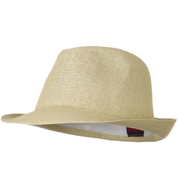 f47089f50 Twisted Toyo Straw Fedora Hat Natural W19S52F CN11BUHBH5L