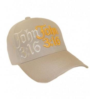 Beige Cap / John 3:16 - CY110M87JAP