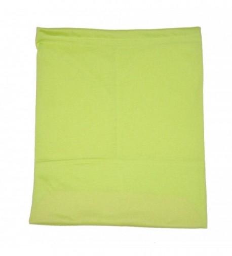 Zaffron Women's Under Scarf Hijab Tube Cap with Brim Bright Green - Bright Green - CB11JI9KEH5
