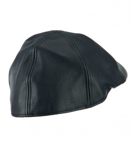 Pamoa Faux Leather Duckbill Ivy in Men's Newsboy Caps