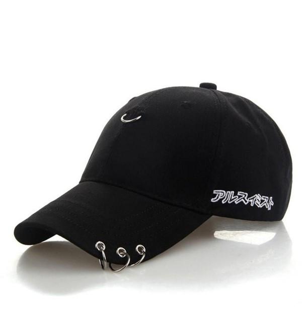 5f0853151345f Kokkn K-Pop BTS Baseball Cap Bangtan Boys Iron Ring Snapback Hat Cotton Adjustable  Hip