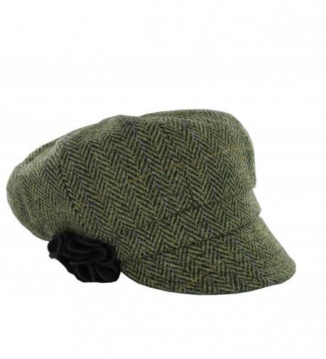 "Women's ""Irish Made"" Newsboy Cap by Mucros Weavers - Color 51 - CZ12N5OVOT4"