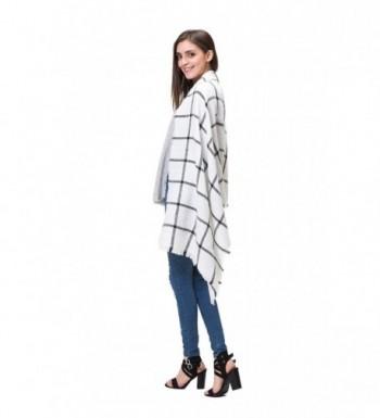 Lemef Stylish Tartan Blanket Gorgeous in Cold Weather Scarves & Wraps
