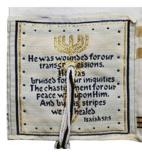 Womens Grafted Prayer Shawl Messianic in Wraps & Pashminas