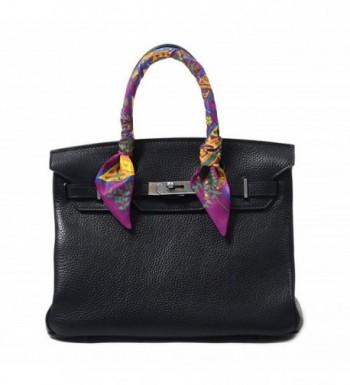 COMVIP Handle Ribbon Scarf Purple in Fashion Scarves