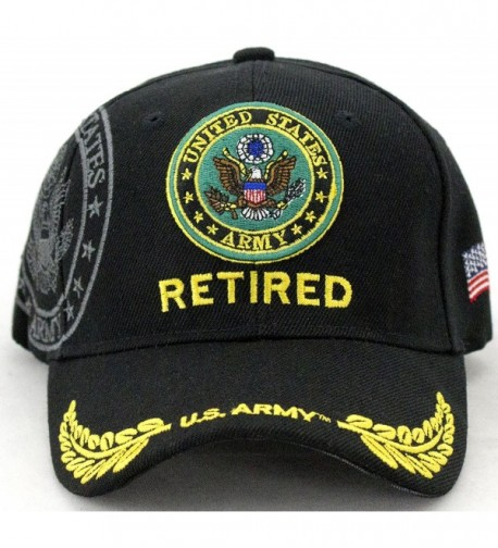 United States Army Retired Baseball Cap - CE128SXMUWX