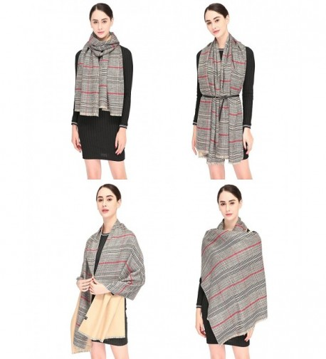 Stylish Blanket Oversized Scarves Winter in Wraps & Pashminas
