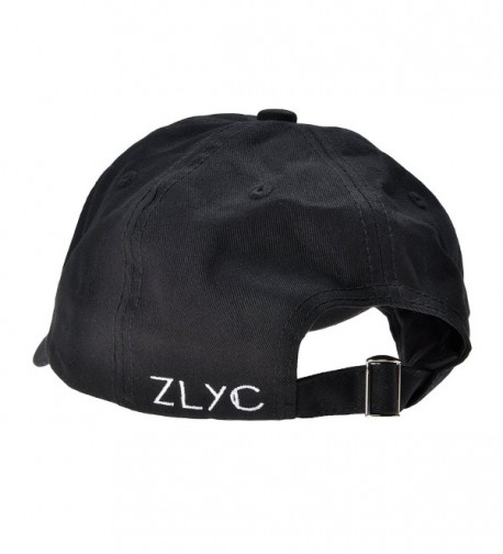 ZLYC Adjustable Baseball Fashion Embroidered in Women's Baseball Caps