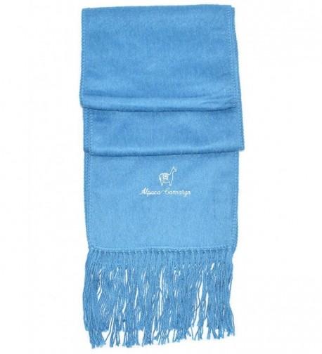 Gamboa Extra Warm Baby Alpaca Scarf - Light Blue - CH1264SWI3Z