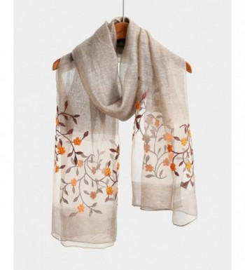 Natural Lightweight Fashion Scarves Packaging