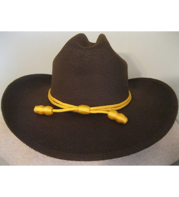 Western Cowboy Hat - Cattleman's with Cavalry Band - Brown - CG11MP2HGEB