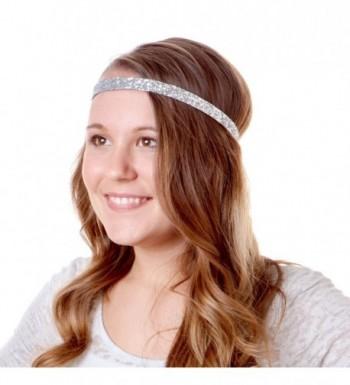 Hipsy Non Slip Headband Adjustable Glitter in Women's Headbands in Women's Hats & Caps
