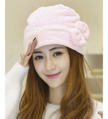 Qiabao Womens Bowknot Cancer Turban