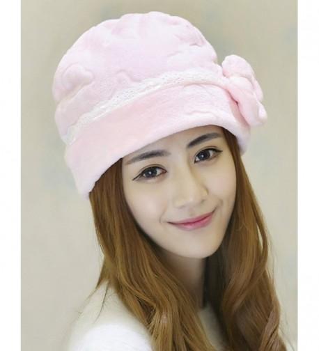 Qiabao Womens Bowknot Cancer Turban in Women's Skullies & Beanies