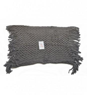 Grillkid WB04 Knit Tassel Scarf