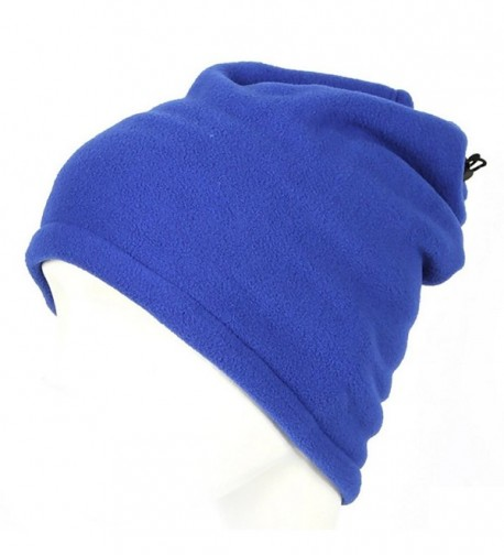 HuaYang Unisex 3 in 1 Winter Skiing Cycling Hiking Snood Scarf Hat Neck Warmer Face Mask Blue - CA120YVXX4V