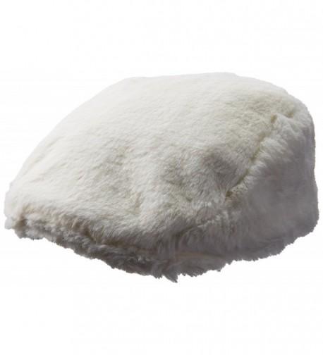 Kangol Men's Faux Fur Cap - Cream - C0184TM3E9Z