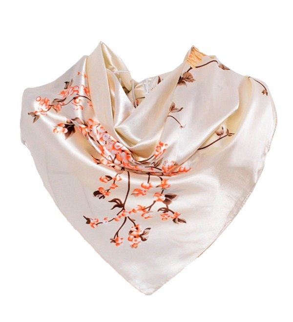 WvWbbb Fashion Chinese Scarves Accessories - Beige - C0186RGUA5I