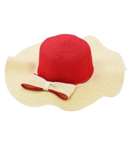 Vegali Summer Fashion Vintage Bowknot in Women's Sun Hats