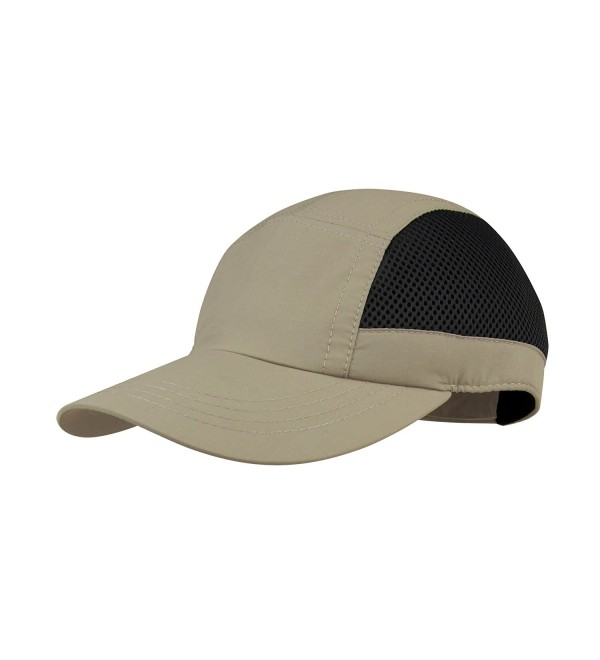 Juniper Casual Outdoor Cap - Khaki/Black - C811LV4GX39
