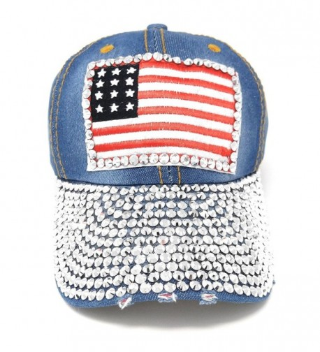 USA Studded Baseball Adjustable American