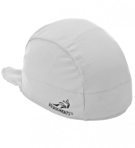Headsweats Shorty Beanie and Helmet Liner- White- One Size - CD11I4GTVXL