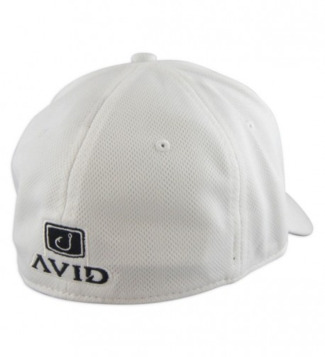 Avid Mens Fitted Fishing White