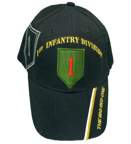 1st Infantry Division Cap Big Red One Army Baseball Bumper Sticker Mens Hat - CP11XADWX3R
