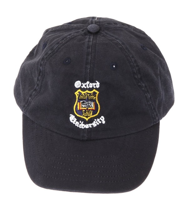 Oxford University Baseball Cap With Adjustable Strap (One Size) (Navy) - CI110SC3W9D