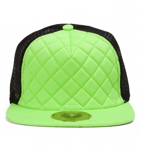 TopHeadwear Quilted Adjustable Trucker Hat