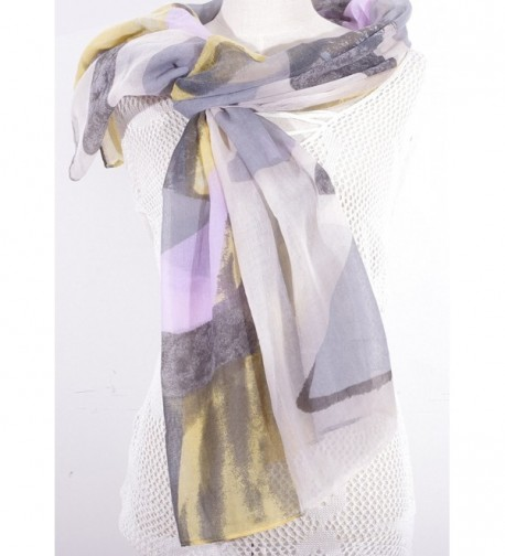Salutto Polyester Geometry Pattern Fashion in Fashion Scarves