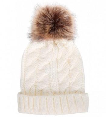 Simplicity Womens Winter Pompoms Beanie