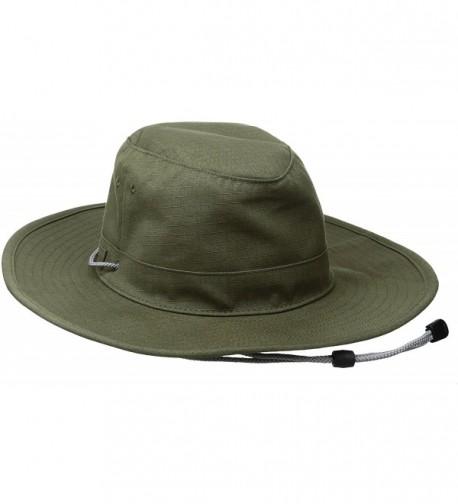 Coal Men's The Traveler Wide brimmed Adventure Hat - Olive - C912BDSJ8EX