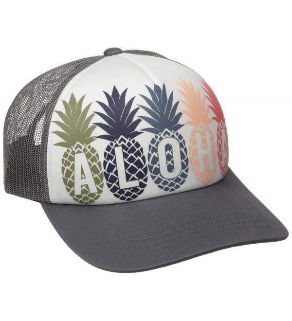Rip Curl Junior's Tropical Fruit Twill Cap - Dark Grey/Dgy/Dgy - CY12JIM437X