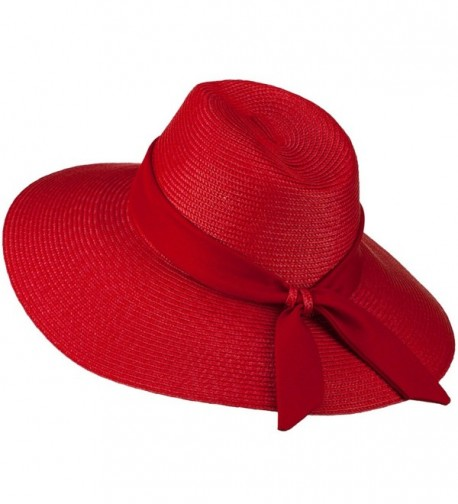 Polypropylene Braid Panama Hat OSFM