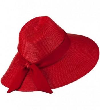 Polypropylene Braid Panama Hat OSFM in Women's Sun Hats