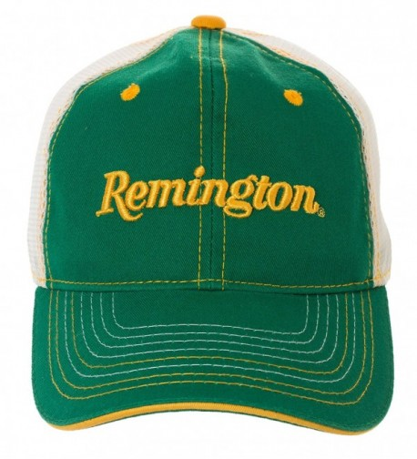 Artisan Owl Officially Licensed Remington Baseball Cap - Available in Multiple Colors! - Green With Mesh Back - CN182W90DAA