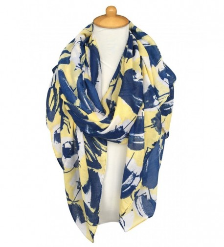 GERINLY Womens Scarves Leaves Flower