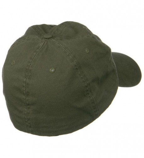 Cotton Twill Big Size Fitted in Men's Baseball Caps