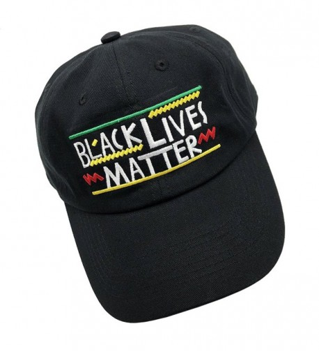 Black Lives Matter Dad Hats Baseball Cap Embroidered Adjustable Snapback Unisex Black Cq187exeial
