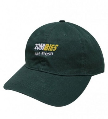 City Hunter C104 Zombies Cotton Baseball Cap 16 Colors - Hunter Green - CD12NU7HRUT