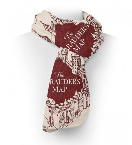 Marauder Map Fleece Scarf inches