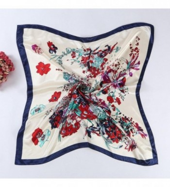 Oksale Floral Printed Square Kerchief in Fashion Scarves