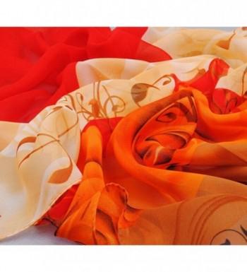Emubody Beautiful Pattern Chiffon Scarves