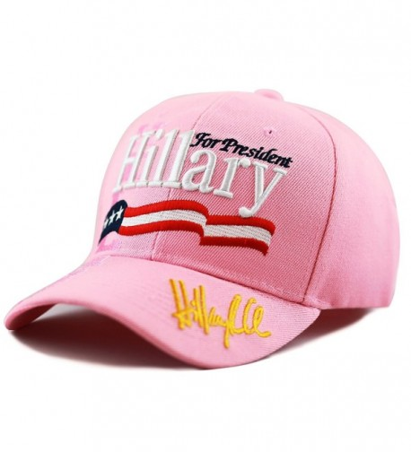 9b61b612728 The Hat Depot Unisex 2016 President Campaign Hillary for President Hat -  Pink - CR12MITBA6T