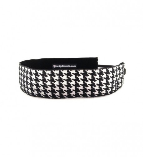 One Up Bands Women's Houndstooth Thick One Size Fits Most - C911K9XINMR