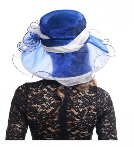 FORBUSITE Derby Kentucky Party Royalblue in Women's Sun Hats