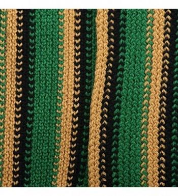 Rasta Multi Color Scarf Green Yellow