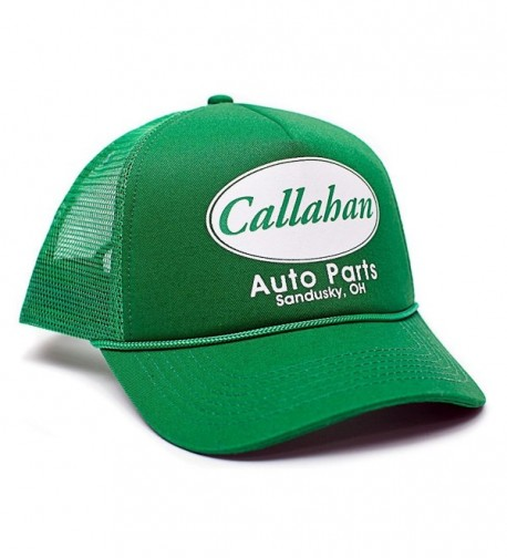 Callahan Auto Parts Sandusky Ohio Adult One-size Unisex Hat Cap Truckers Green - C812FQ79WRP