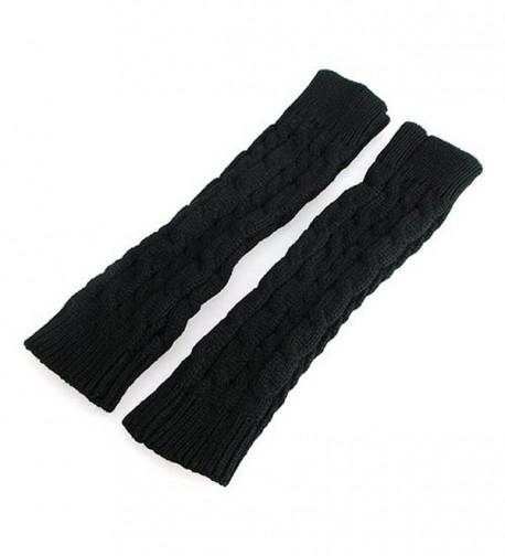 GUAngqi Womens Crochet Fingerless Gloves